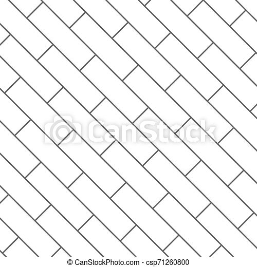 パターン, 背景, seamless, イラスト, 寄せ木張りの床 - csp71260800