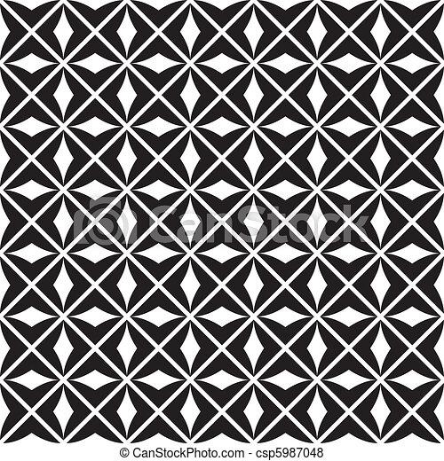 パターン, seamless, (vector) - csp5987048