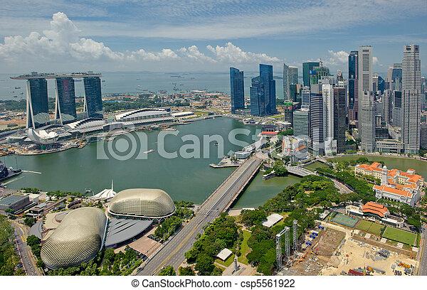 パノラマ, シンガポール - csp5561922