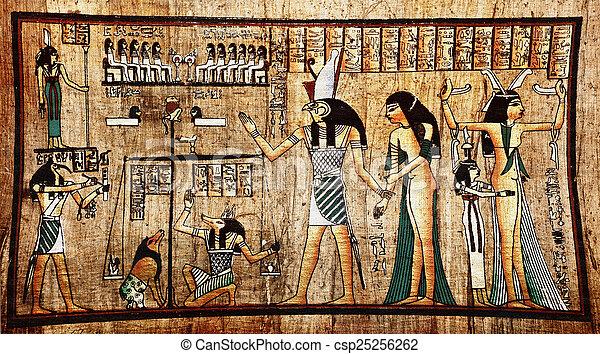 パピルス, エジプト人 - csp25256262