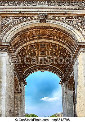パリ, アーチ, -, 勝利 - csp6613798