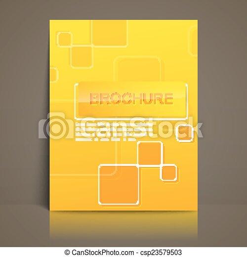 パンフレット, テンプレート, ビジネス - csp23579503