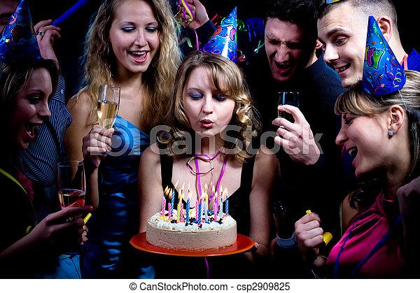 パーティー, birthday - csp2909825