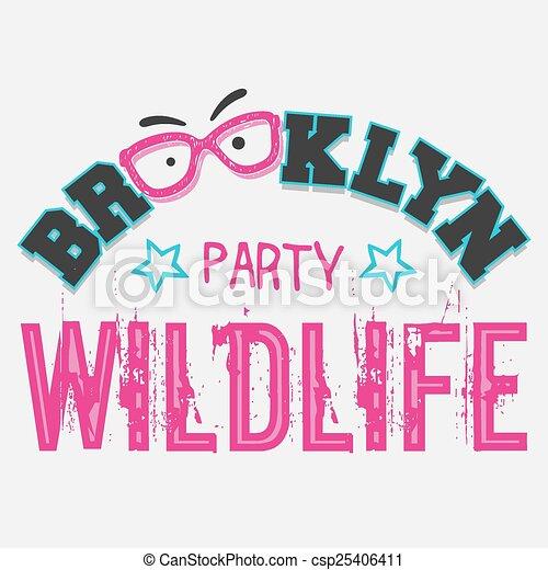 パーティー, brooklyn, 野生生物 - csp25406411