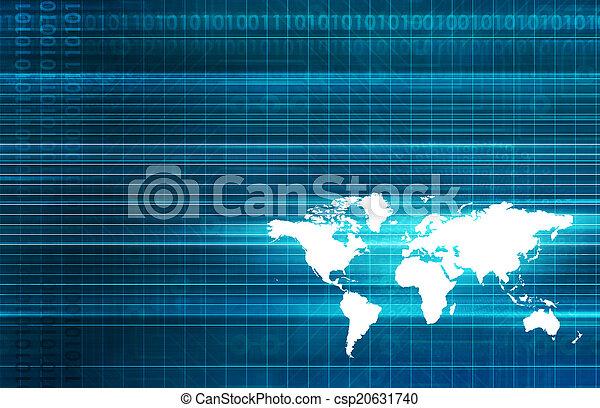 パートナー, 世界的である - csp20631740