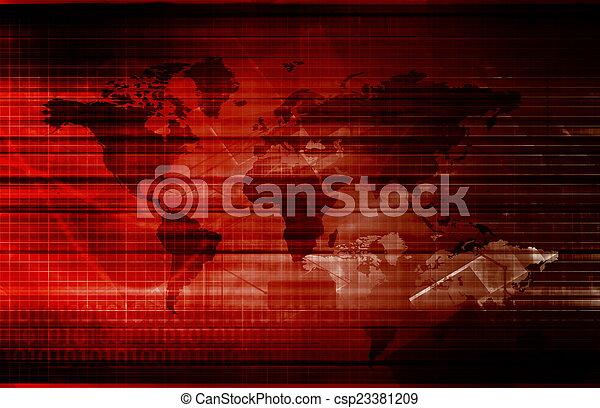 パートナー, 世界的である - csp23381209