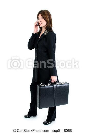 ヒスパニックの 女性, スーツ - csp0118068