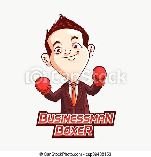 ビジネスマン ボクサー イラスト ビジネスマン ボクサー デザイン