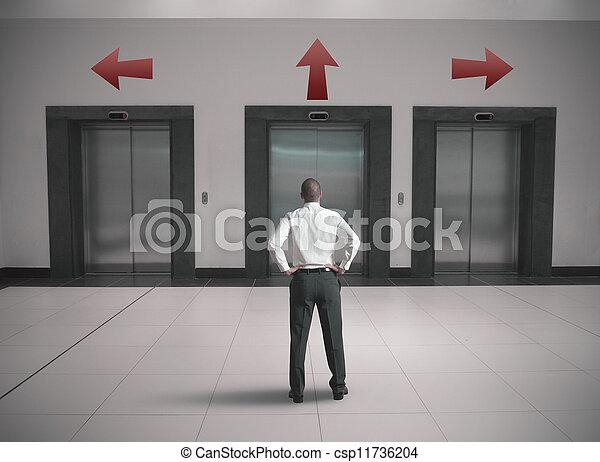 ビジネスマン, 選択 - csp11736204