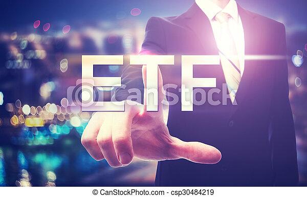 ビジネスマン, etf, 指すこと - csp30484219