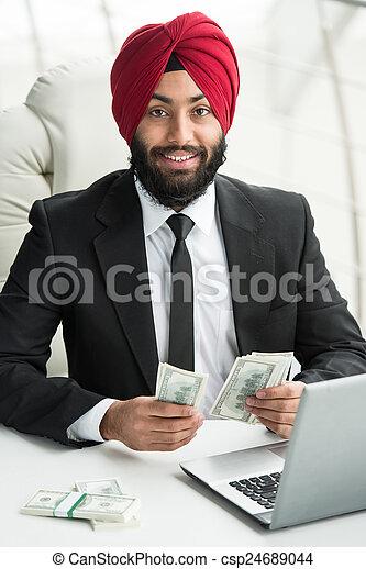 ビジネスマン, indian - csp24689044