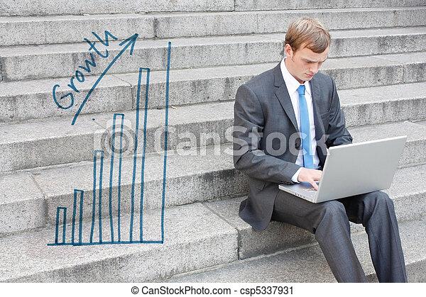 ビジネス男 - csp5337931