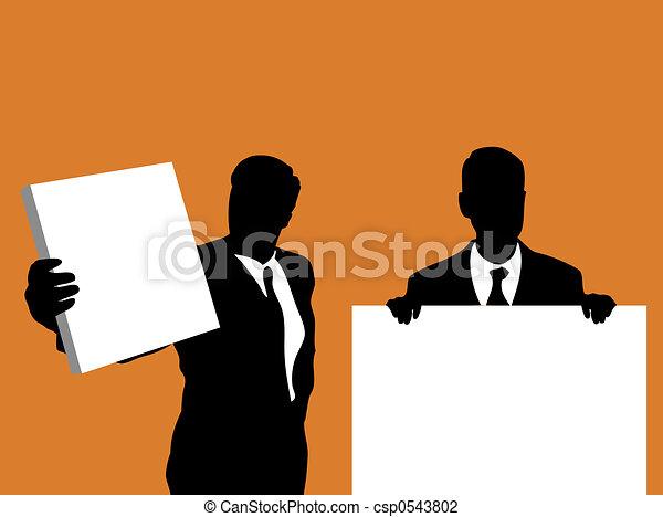 ビジネス, サイン - csp0543802