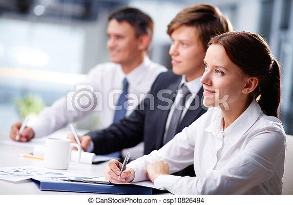 ビジネス セミナー - csp10826494
