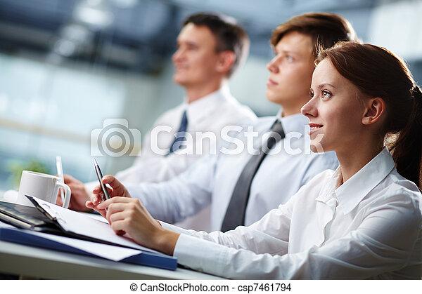 ビジネス セミナー - csp7461794