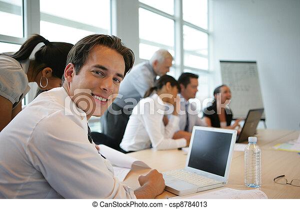 ビジネス セミナー - csp8784013