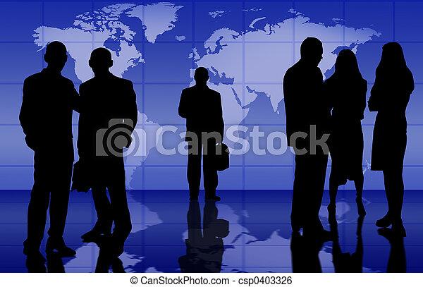 ビジネス チーム - csp0403326