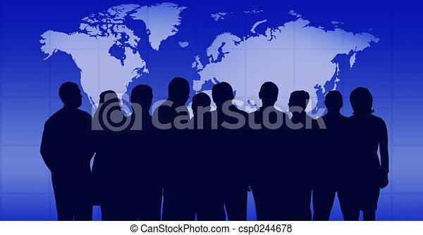 ビジネス チーム - csp0244678