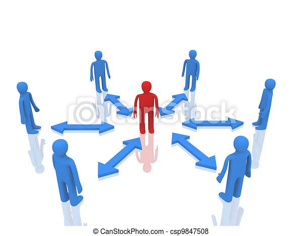 ビジネス チーム - csp9847508