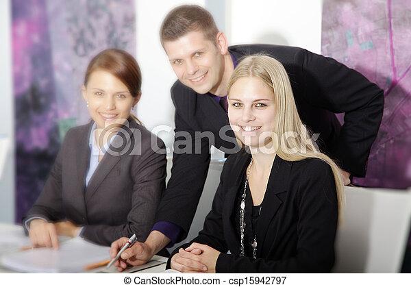ビジネス チーム - csp15942797