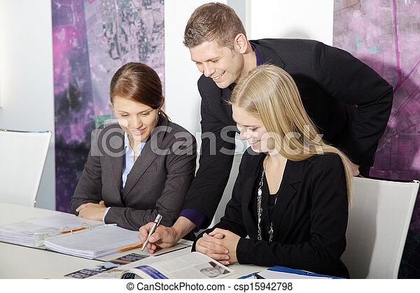 ビジネス チーム - csp15942798