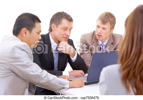 ビジネス チーム - csp7506479