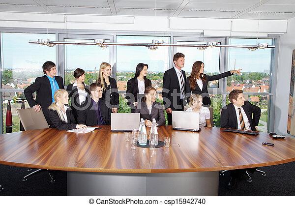 ビジネス チーム - csp15942740