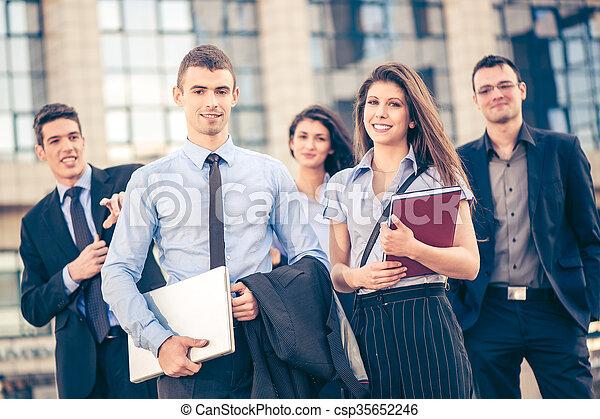 ビジネス チーム - csp35652246