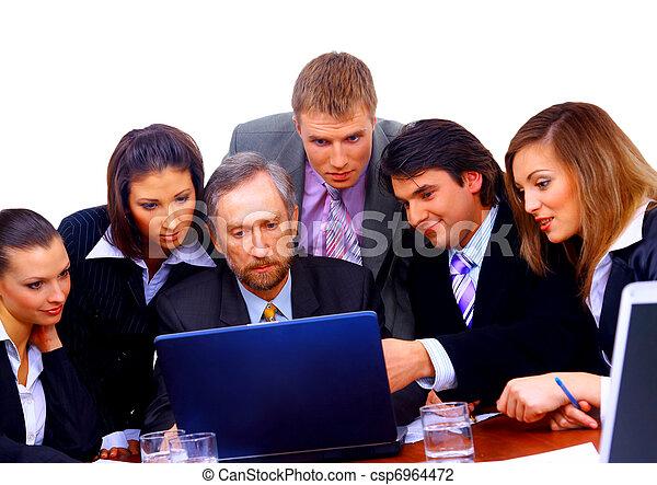 ビジネス チーム - csp6964472