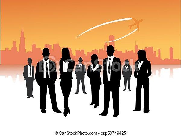 ビジネス 人々 - csp50749425