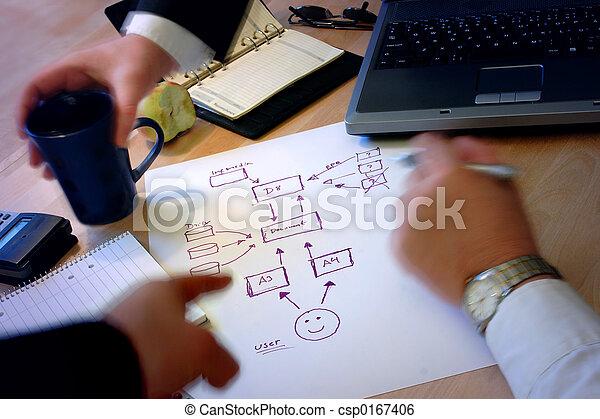 ビジネス 人々 - csp0167406