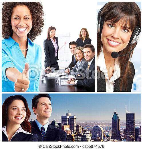 ビジネス 人々 - csp5874576