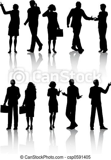 ビジネス 人々 - csp0591405
