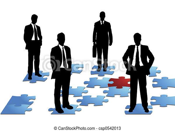 ビジネス 人々 - csp0542013
