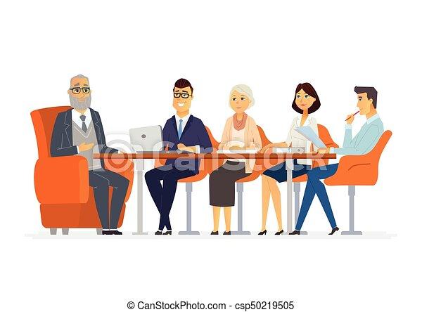 ビジネス 現代 イラスト ベクトル 特徴 ミーティング 漫画