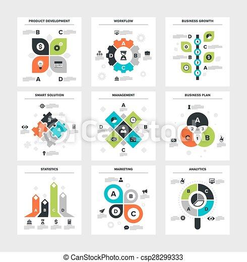ビジネス, infographics - csp28299333