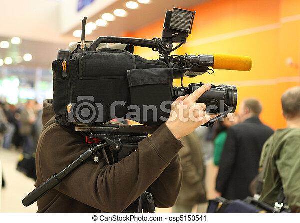 ビデオ, オペレーター - csp5150541