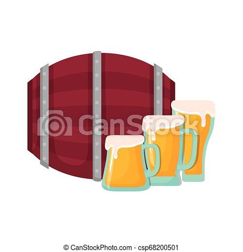 冷たい飲み物イラストとクリップアート61410 冷たい飲み物