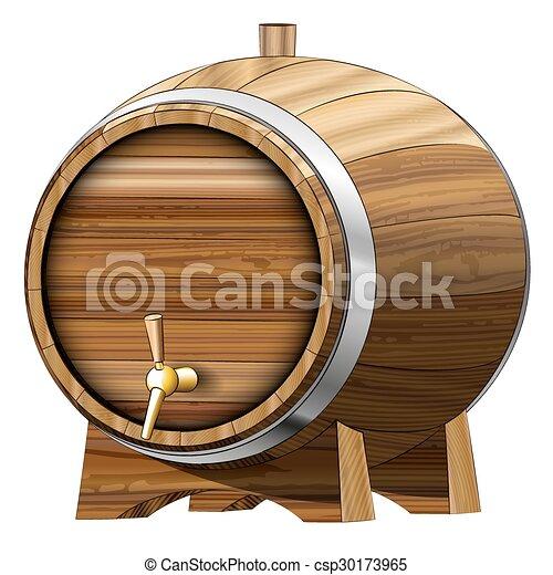 ビール樽 - csp30173965