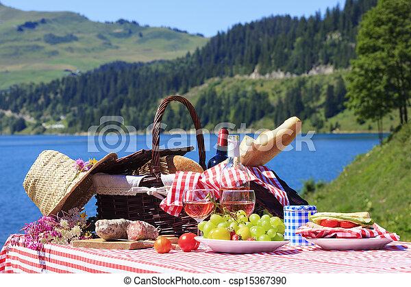 ピクニック, 時間 - csp15367390