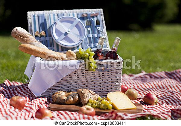 ピクニック, time! - csp10803411