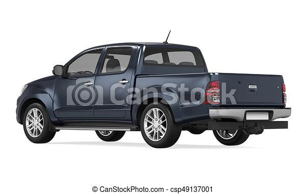 ピックアップ トラック, 隔離された - csp49137001