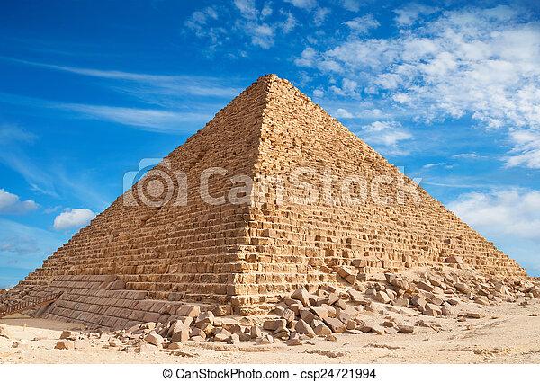 ピラミッド, ギザ - csp24721994