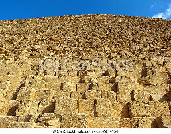 ピラミッド, ギザ, (egypt) - csp2977454