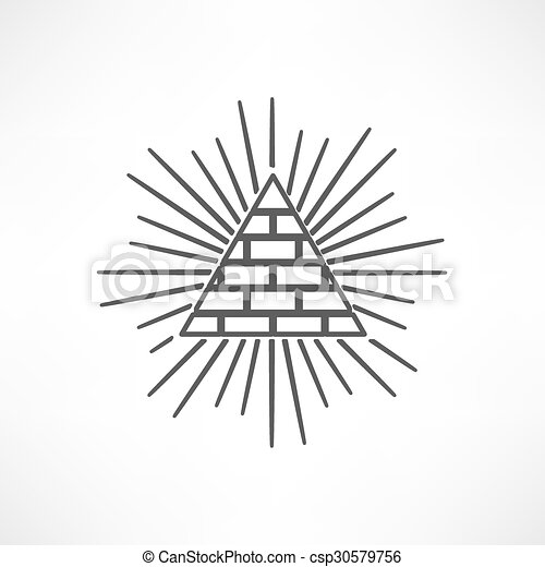 ピラミッド - csp30579756
