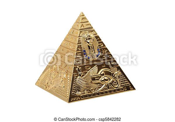 ピラミッド - csp5842282