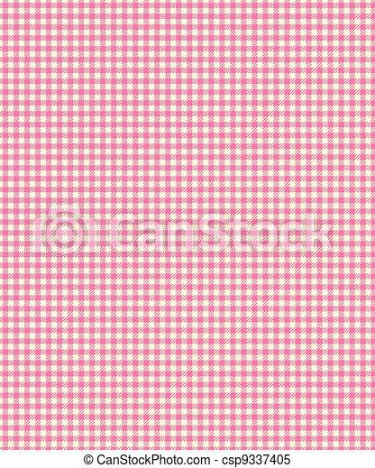 ピンク, チェッカーの駒, plaid, ペーパー - csp9337405