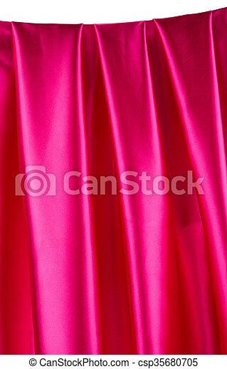 ピンク, バックグラウンド。, 絹 - csp35680705