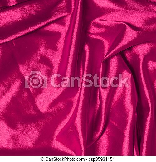 ピンク, 優雅である, 絹, 滑らかである, 背景 - csp35931151