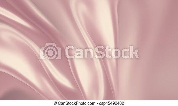 ピンク, 絹 - csp45492482